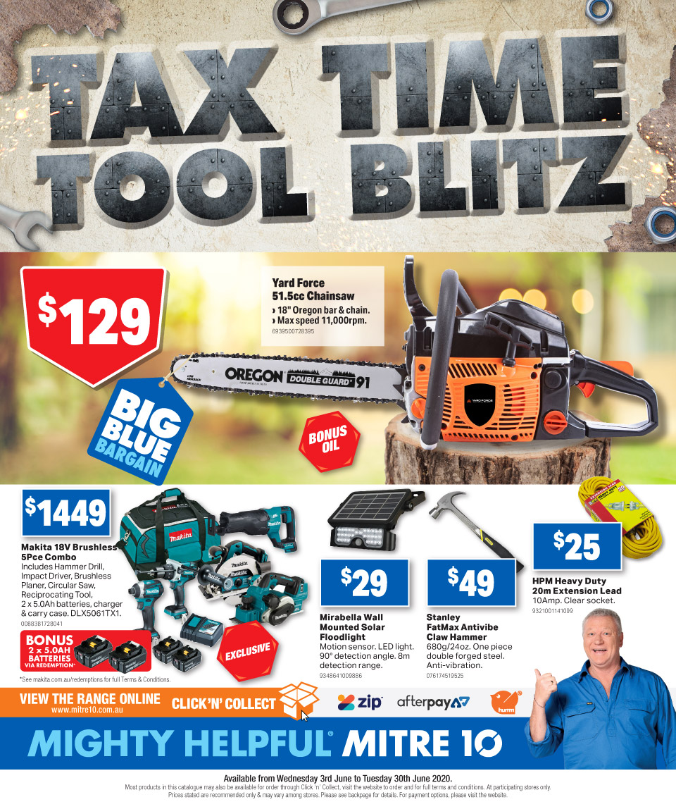 Mitre 10 Catalogue 3 Jun - 30 Jun 2020