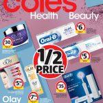 Coles Catalogue Health & Beauty 24 June - 30 June 2020