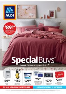 Aldi Catalogue Specials Week 38, 16 September - 23 September 2020