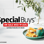 Aldi Special Buys Wednesday 19th August 2020