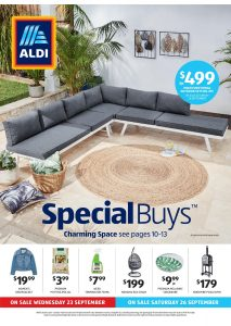 Aldi Catalogue Specials Week 39, 23 September - 29 September 2020