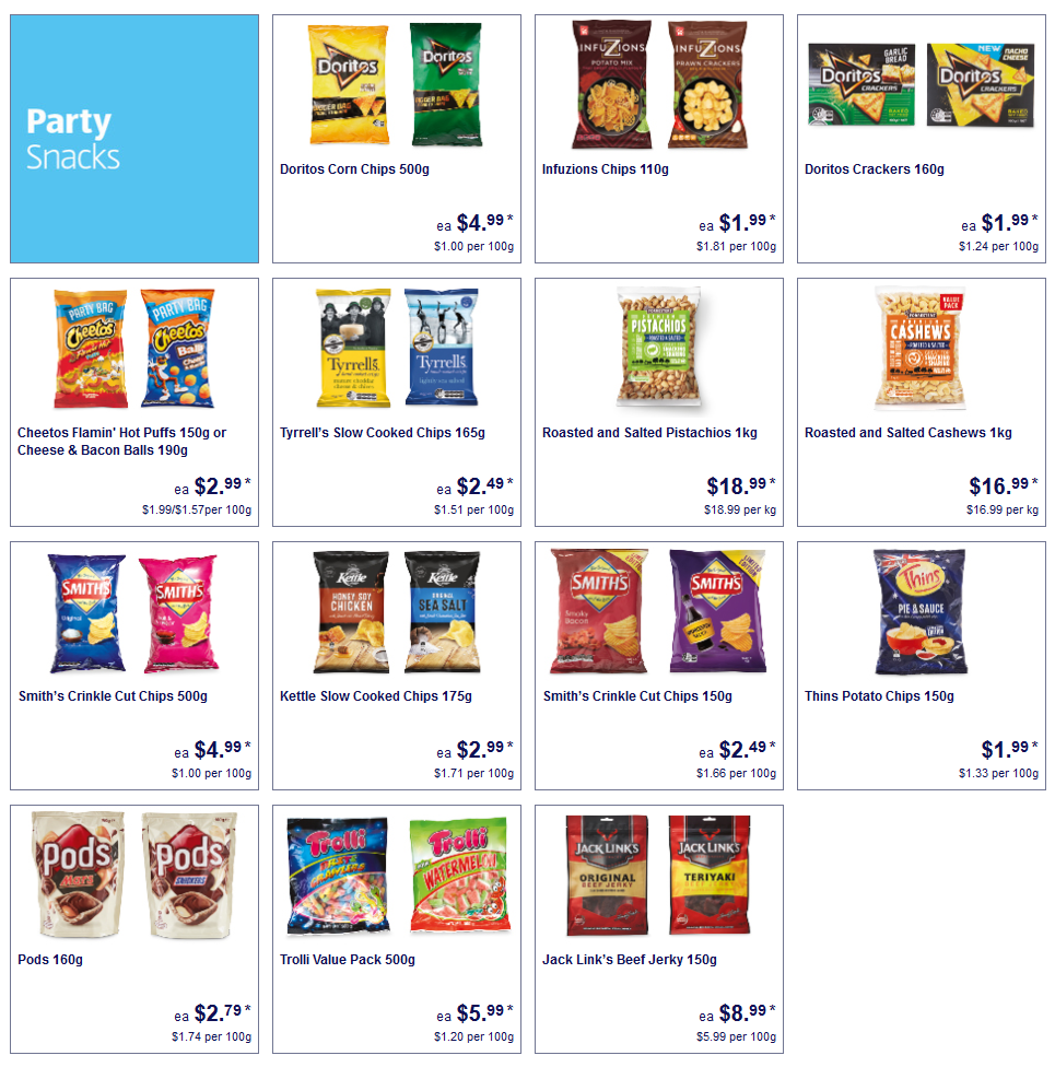 ALDI Party Snack on Sale Sat, 19 Sep 2020