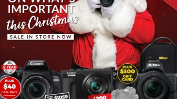 Camera House Catalogue 1 Dec - 24 Dec 2020 Focus On What's Important This Christmas
