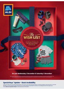Aldi Catalogue Specials Week 49, 2 December - 8 December 2020