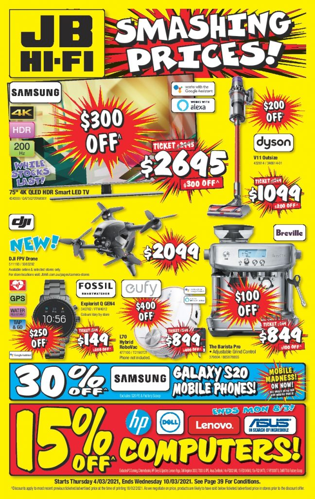 JB HI Fi Catalogue 4 March - 10 March 2021 Mobile Madness
