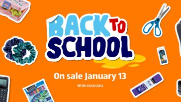 ALDI Back to School on Sale 13 January 2021