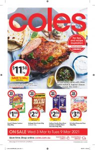 Coles Catalogue 3 March - 9 March 2021 Next Week Preview