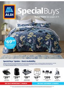 Aldi Catalogue Specials Week 9, 3 March - 9 March 2021