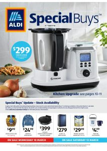 Aldi Catalogue Specials Week 10, 10 March - 16 March 2021