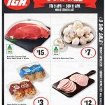 IGA 3 Day Sale 9 Apr - 11 Apr 2021