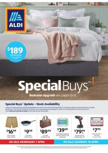 Aldi Catalogue Specials Week 14, 7 April - 13 April 2021