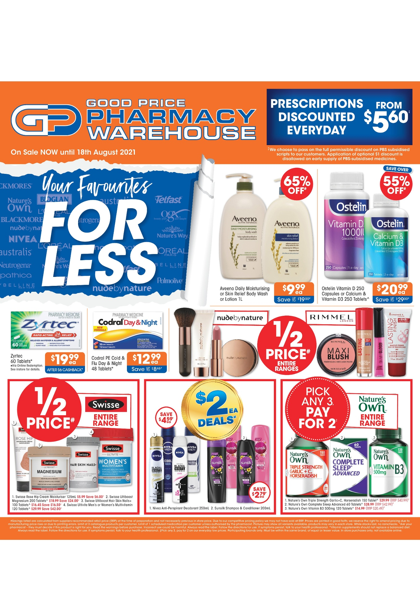 Good Price Pharmacy Catalogue 29 July – 8 August 2021