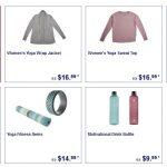 ALDI Yoga Essentials on Sale Wednesday, 4 August 2021