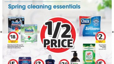 Coles Catalogue Spring Cleaning Essentials 25 August – 31 August 2021