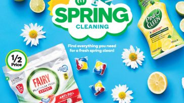 Woolworths Spring Cleaning Essentials NSW Catalogue 25 August – 31 August 2021