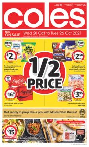 Coles Catalogue 20 October – 26 October 2021 Next Week Preview